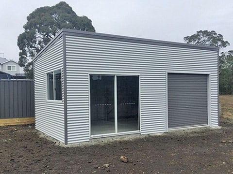 skillion roof sheds