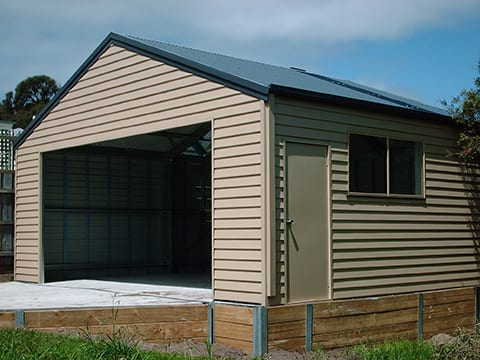 Weatherboard Sheds