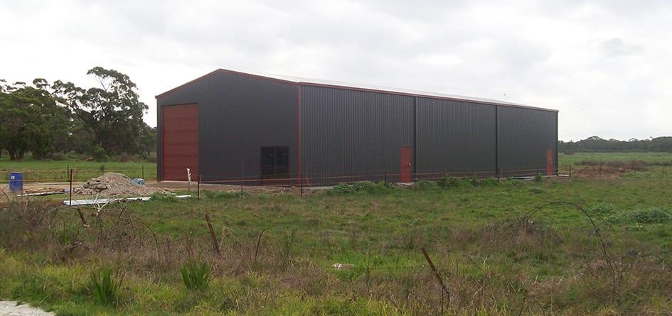 farm storage sheds