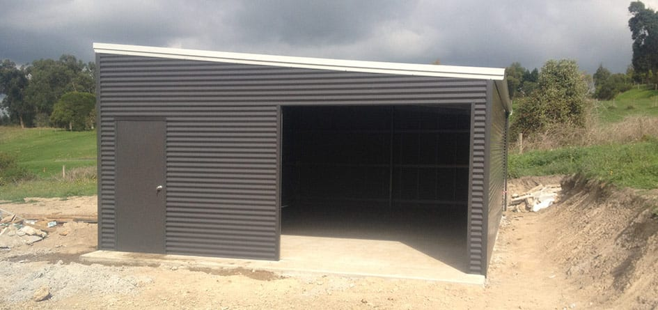 skillion roof sheds