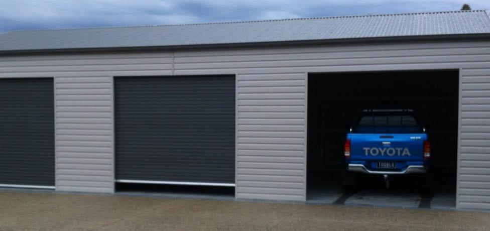 horizontal cladding sheds